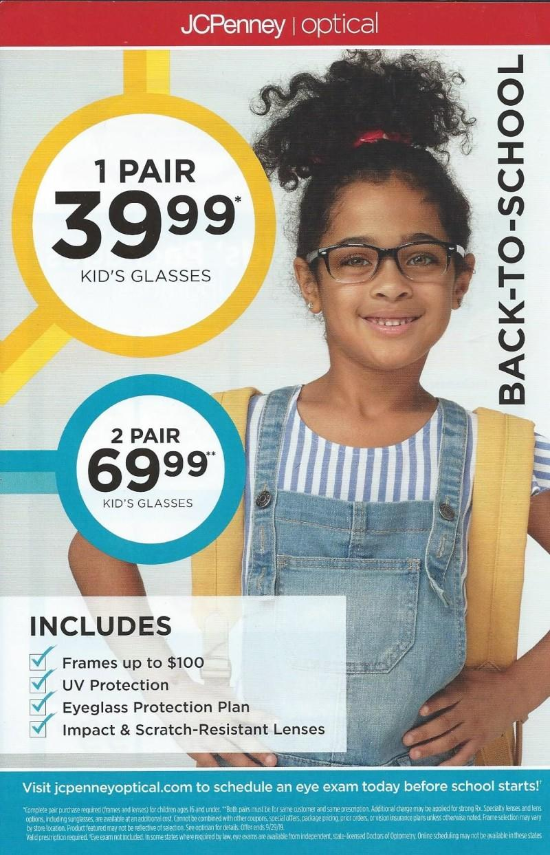 Back-To-School from JCPenney Optical