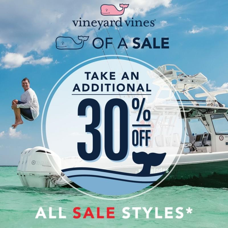 Whale Of A Sale Is Here from vineyard vines