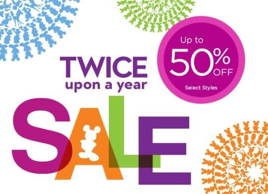 Twice Upon a Year Sale from Disney Store