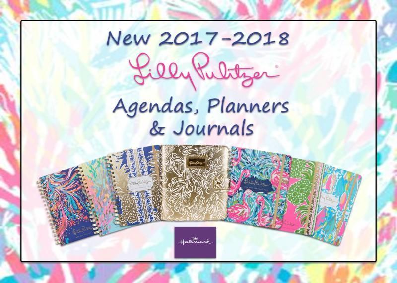 Lilly Pulitzer Agendas, Planners & Journals
