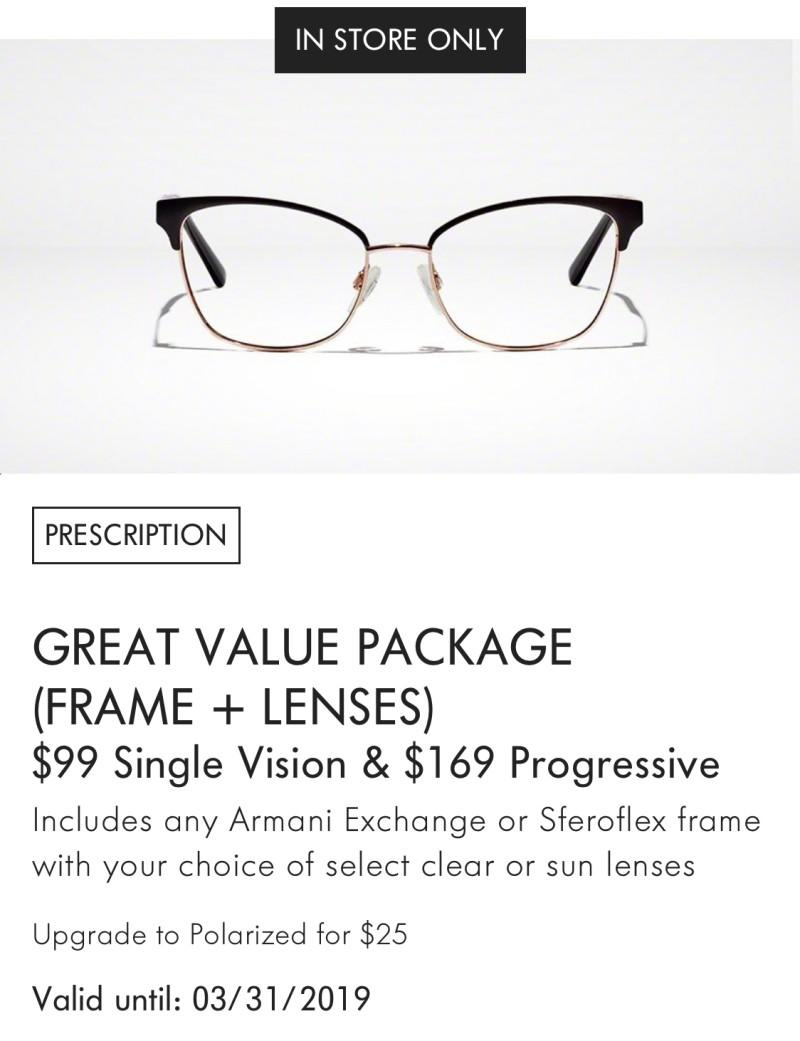 759548a9f0 Great Value Package at LensCrafters