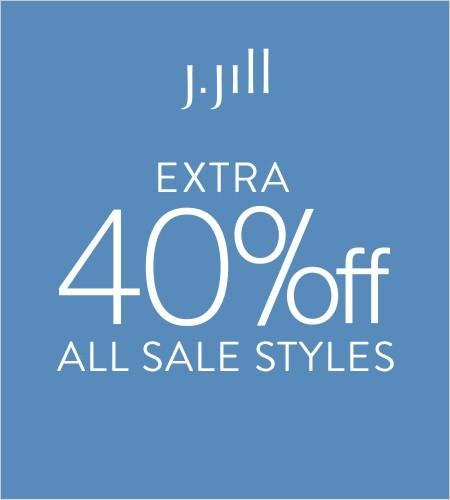 Extra 40% off Sale from J.Jill