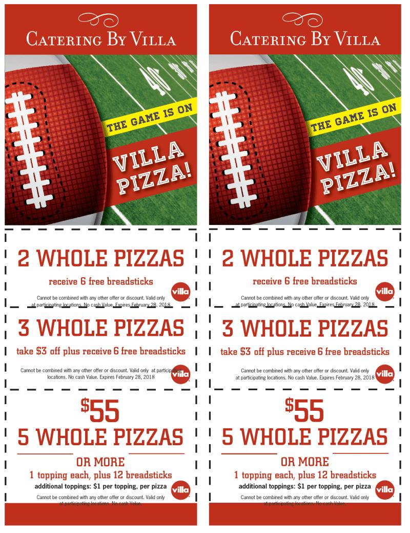 Catering By Villa from Villa Pizza