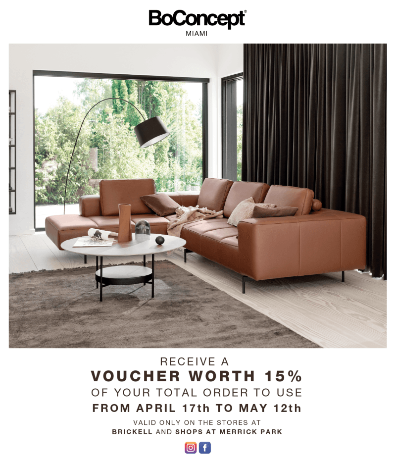 Spring Promotion from BoConcept