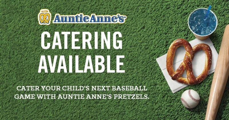 Auntie Anne's Catering Available!