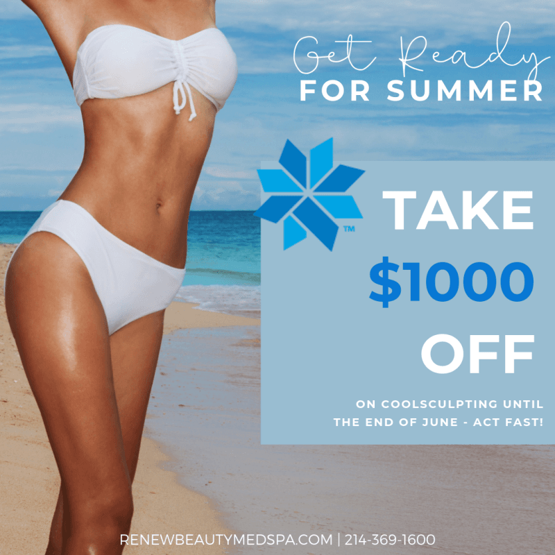 Take $1000 Off from Renew Beauty