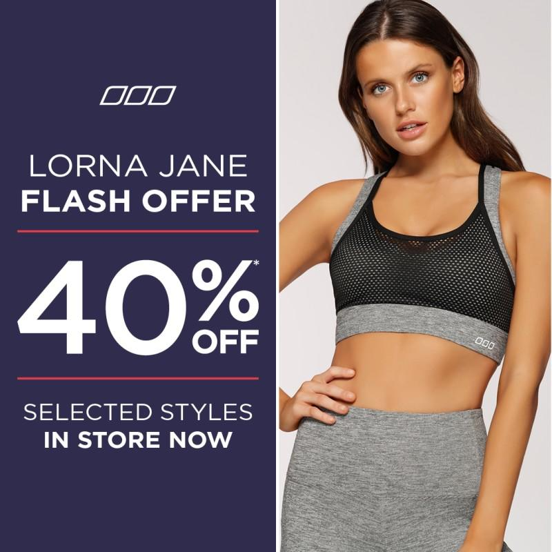 Memorial Day Sale from Lorna Jane Active Living