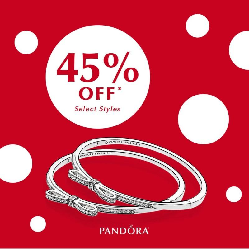 45% off Sale from PANDORA