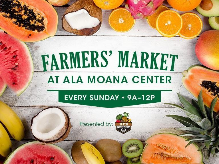 Ala Moana Center Farmers' Market Event