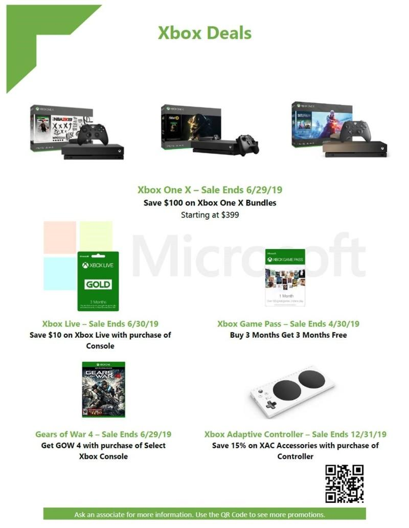 Xbox Deals from Microsoft