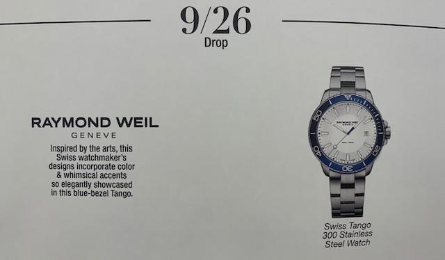 Raymond Weil Watch Drop