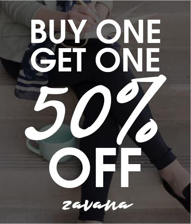 Leggings BOGO 50% off from Zavana