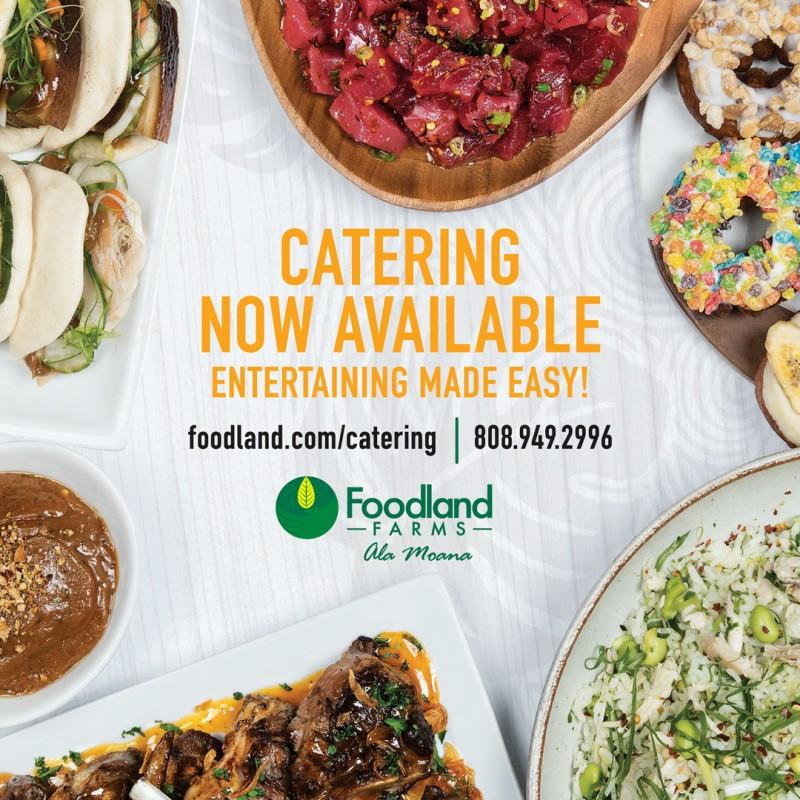 New Catering Menu from Foodland Farms