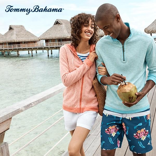Save 40% off select styles from Tommy Bahama