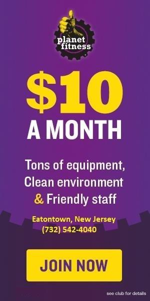 $10 a Month! from Planet Fitness