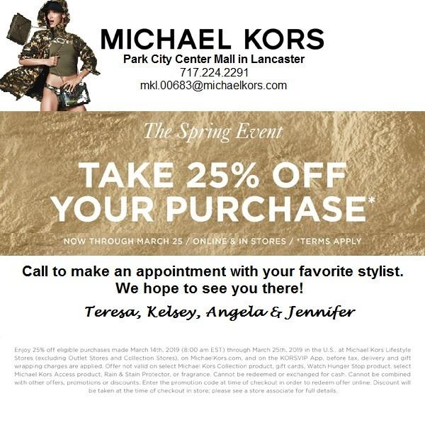 1670ab42e252 The Spring Event at MICHAEL KORS