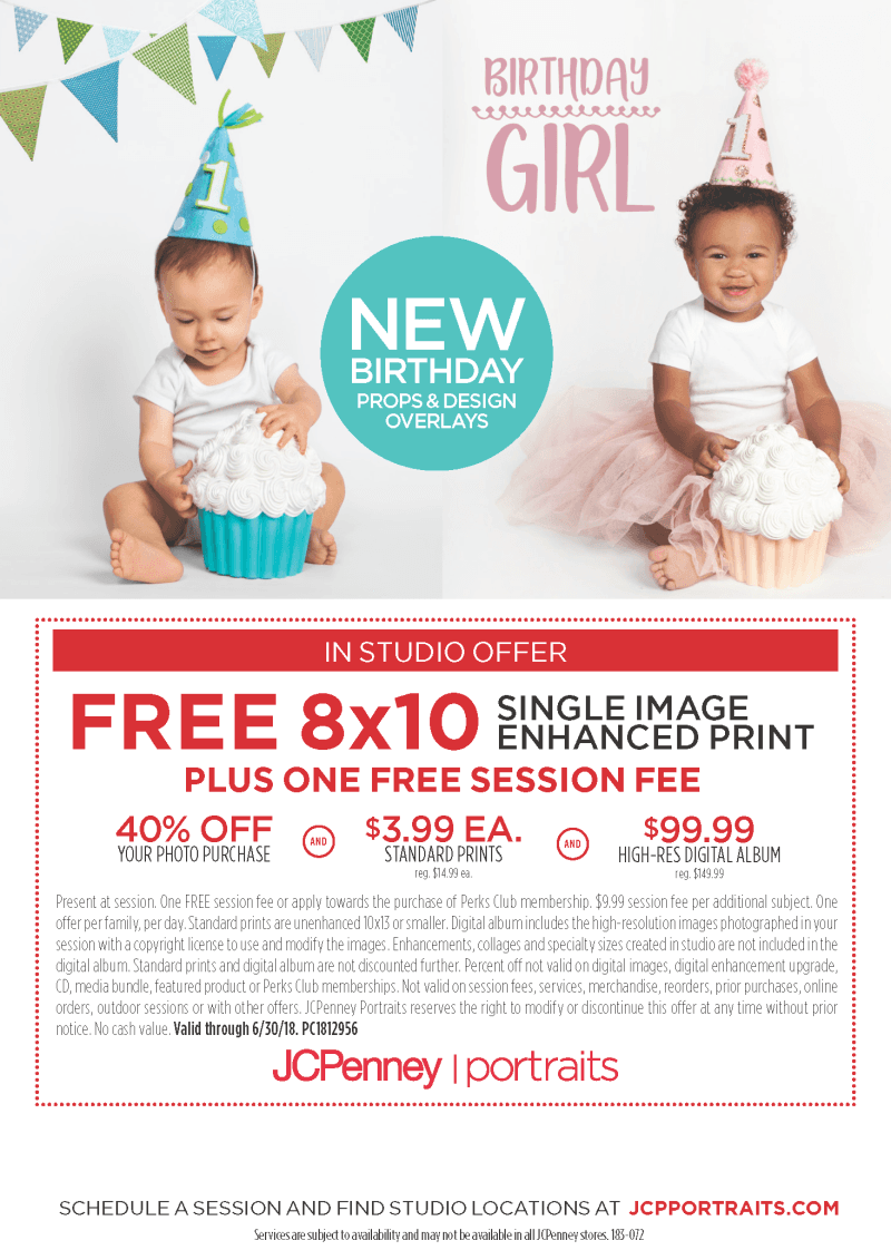 JCPenney Portraits - In Studio Offer