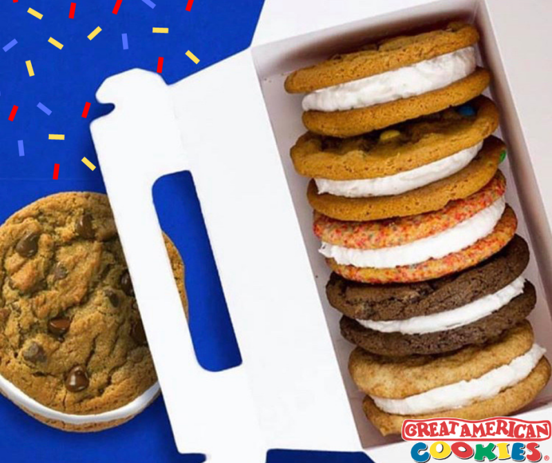 Make it a Doozie - Any flavor from Great American Cookie