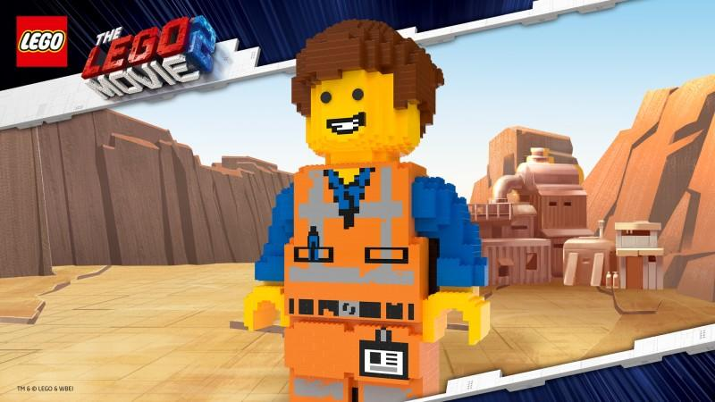 large lego man