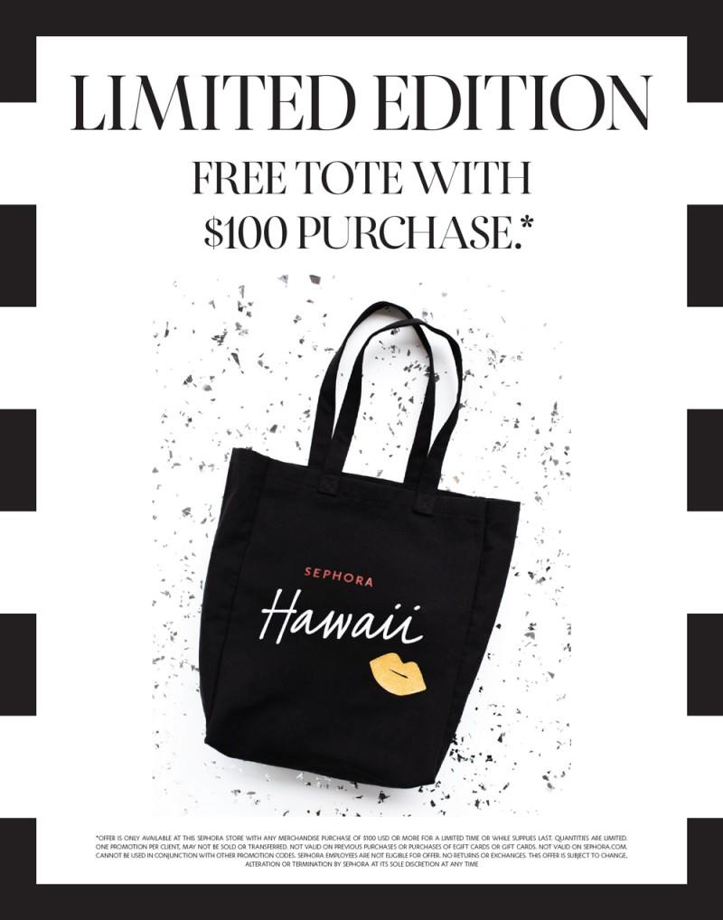 FREE Sephora Hawaii Tote from SEPHORA