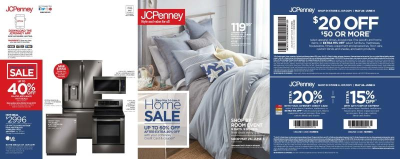 Memorial Day Home Sale from JCPenney