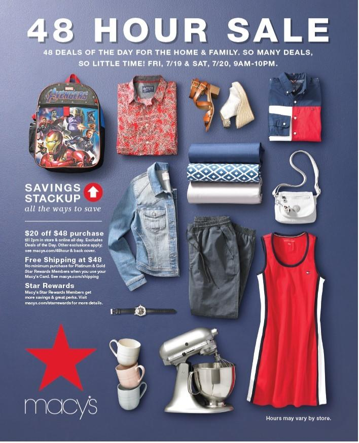 48 Hour Sale from macy's