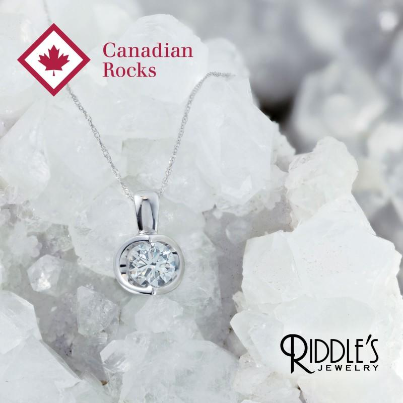 Canadian Rocks – Love is Rare from Riddle's Jewelry