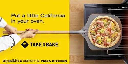 Take & Bake from California Pizza Kitchen