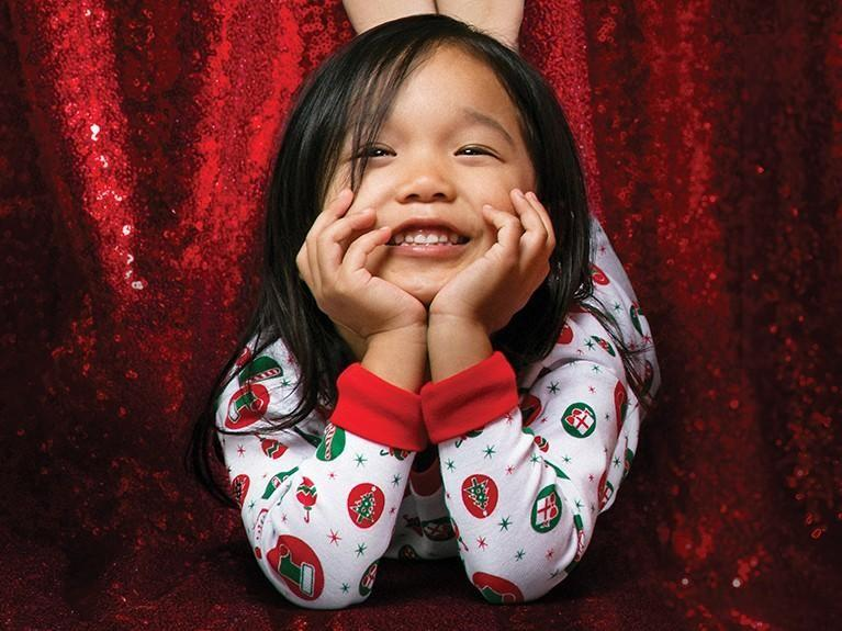 Pajama Day at Santa's Workshop