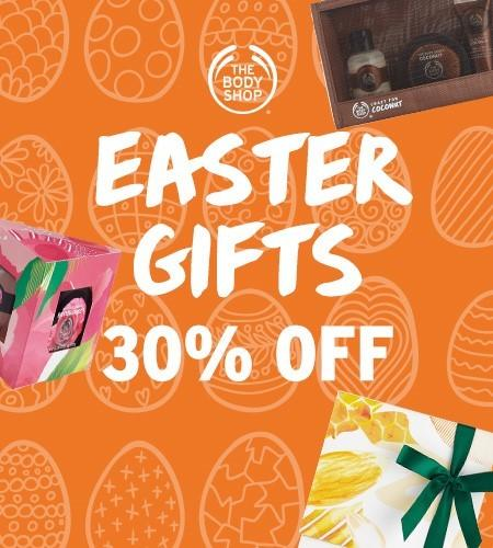 Easter Deals at The Body Shop from The Body Shop