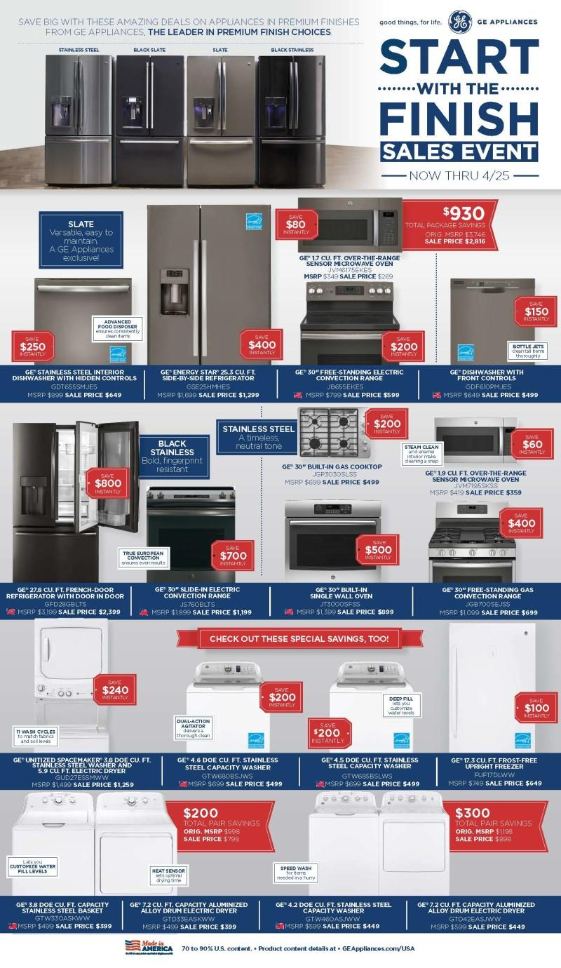 Appliance Sales from JCPenney