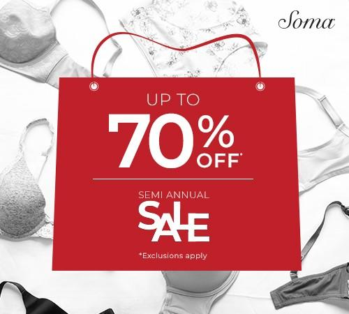 Sale from Soma Intimates