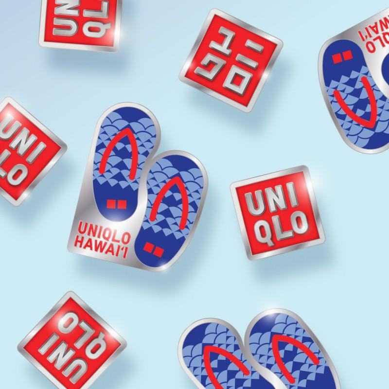 Limited-Edition Enamel Pin from Uniqlo