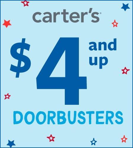 Carters Doorbuster Savings from Carter's Oshkosh
