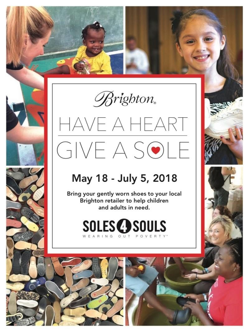 Have a Heart - Give a Sole