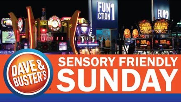 Sensory Sunday at Dave & Buster's