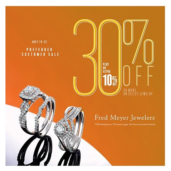 30% OFF from Fred Meyer Jewelers