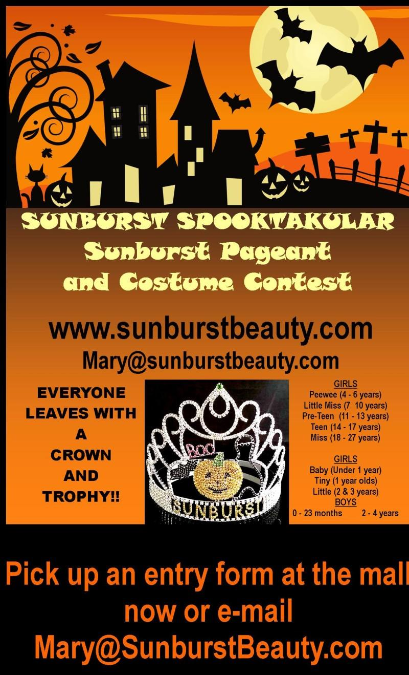 sunburst spooktacular pageant and costume contest