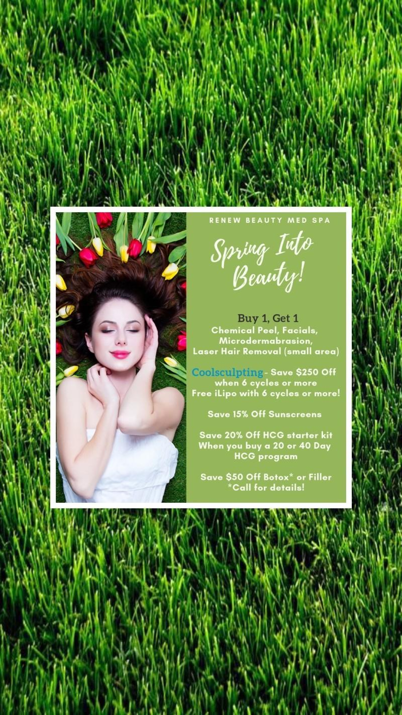 Spring into Beauty! from Renew Beauty