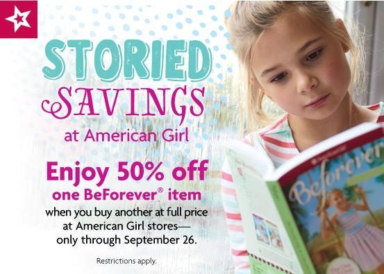Storied savings at American Girl