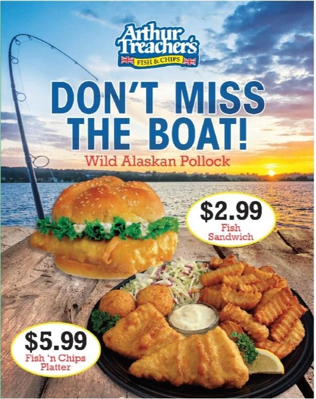 Don't Miss the Boat! from Nathans Famous