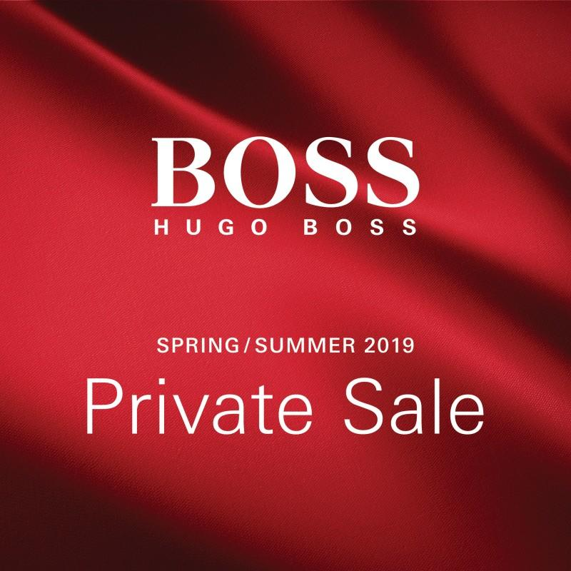 BOSS Private Sale from Hugo Boss
