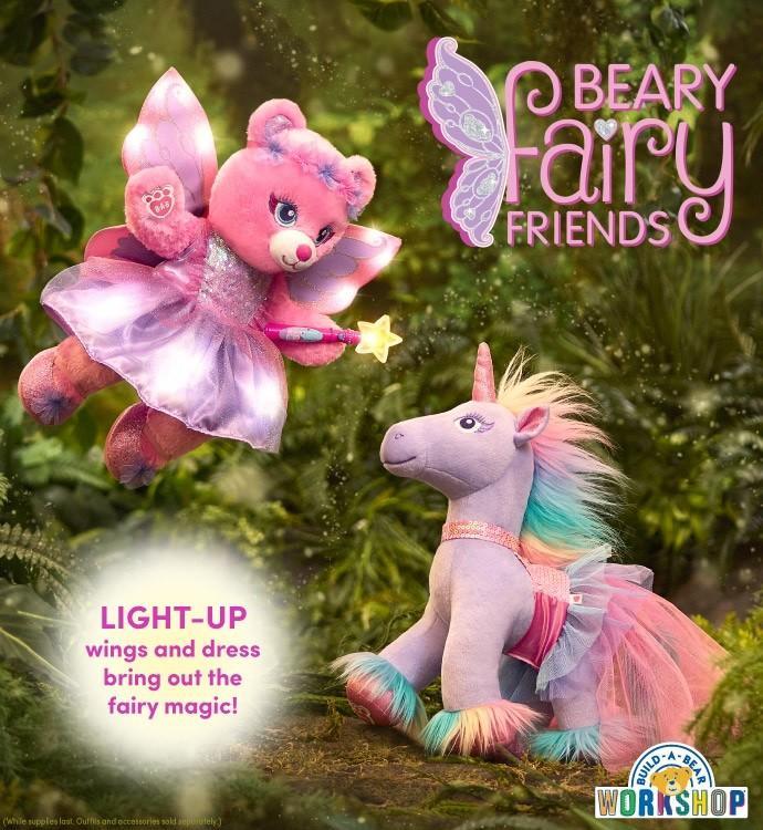 NEW Beary Fairy Friends