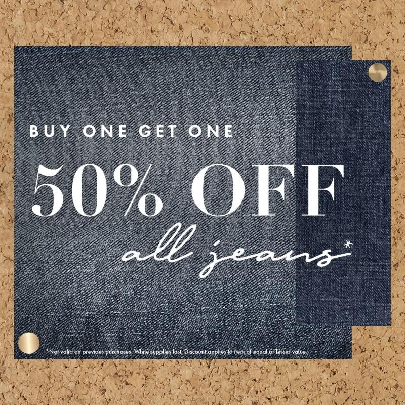 Buy One Get One Sale from Bohme Boutique