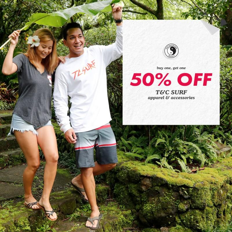 Buy One, Get One 50% Off from T&C Surf Designs
