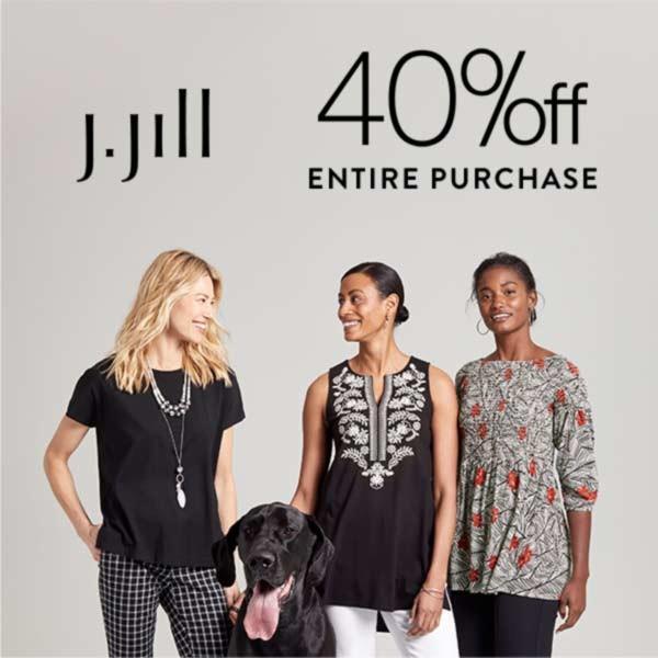 40% off from J.Jill
