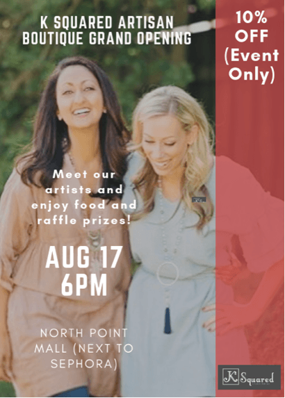 K Squared Artisan Boutique at North Point Mall | North Point Mall