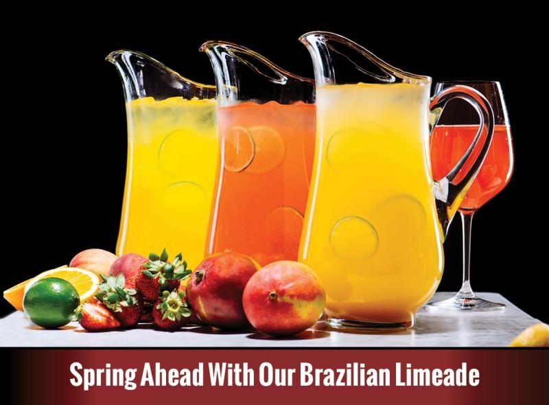 Spring Ahead with our Brazilian Limeade from Texas De Brazil