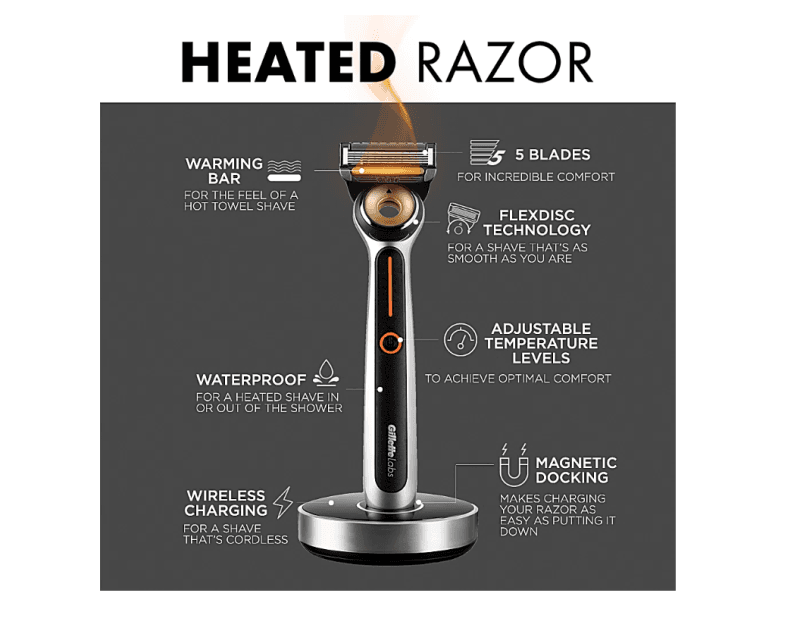 New Heated Razor Bundle from The Art of Shaving