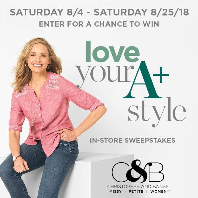 Love Your A+ Style from christopher & banks | cj banks